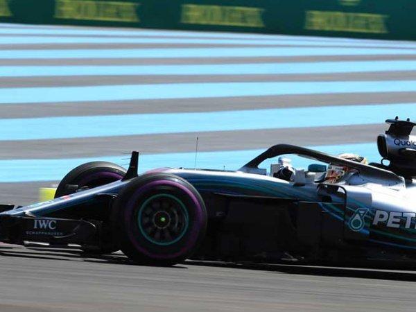 Hasil FP 1 GP Perancis