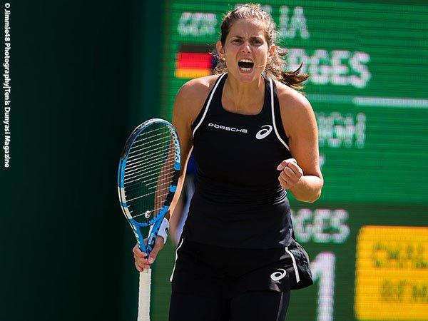 Jelang Laga Lawan Petra Kvitova, Julia Goerges Mulai Bersenang-Senang Di Grass-Court