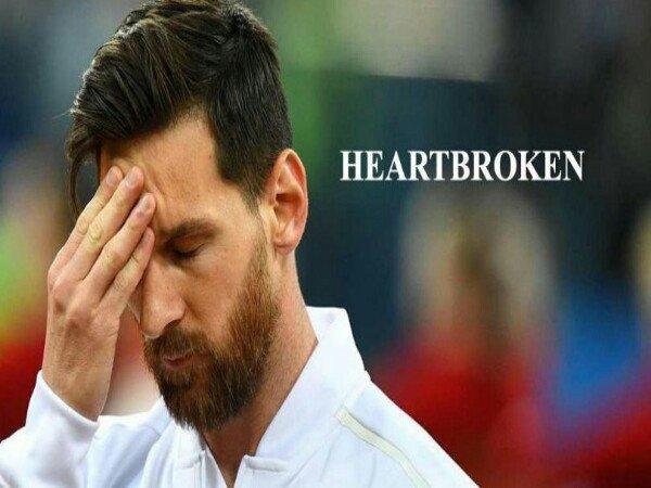 Kecewanya Lionel Messi Lihat Argentina Dipermalukan Kroasia