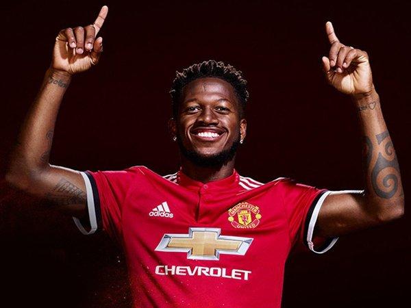 Manchester United Resmi Perkenalkan Fred Sebagai Pemain Baru Mereka
