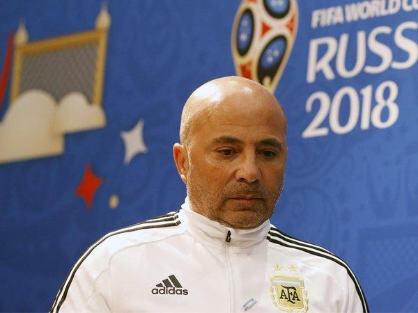 Penyesalan Mendalam Jorge Sampaoli Setelah Argentina Dipermalukan Kroasia