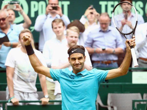 Roger Federer Sedikit Tertatih Demi Melaju Ke Perempatfinal Di Halle