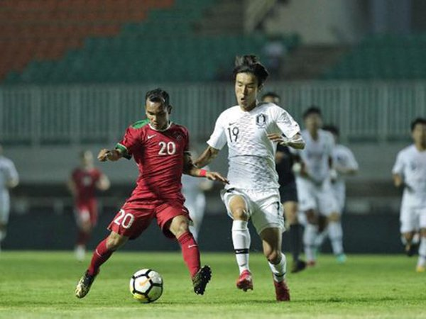 Indonesia 1-2 Korsel, Petaka di Masa 'Injury Time'