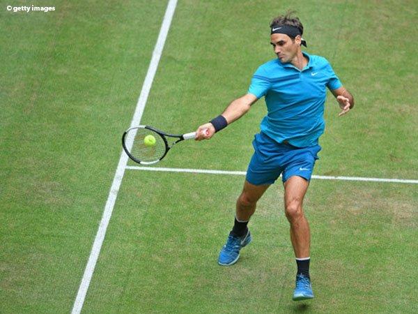 Langkah Roger Federer Menuju Semifinal Di Halle Tak Terbendung