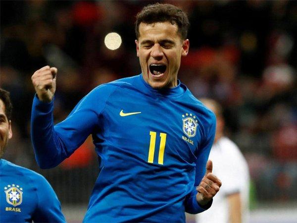 Philippe Coutinho Puji Kesabaran Brasil Saat Taklukan Kosta Rika