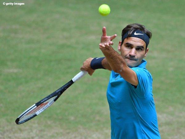 Roger Federer Siap Lakoni Final Ke-12 Di Halle