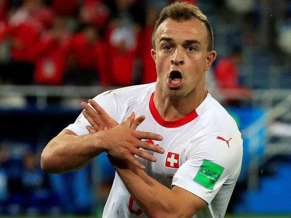 Xherdan Shaqiri Beberkan Kunci Keberhasilan Swiss Taklukan Serbia