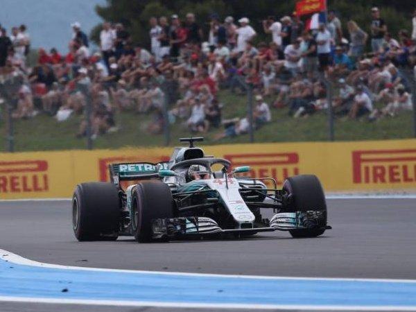 Hasil GP Perancis, Lewis Hamilton Menang dengan Mesin Baru