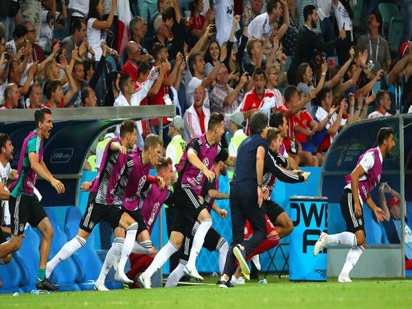 Lakukan Selebrasi Berlebihan, Asosiasi Sepak Bola Jerman Minta Maaf