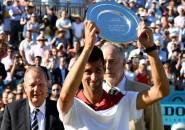 Terlepas Dari Kekalahan Di Final Queen`s Club, Novak Djokovic Siap Turun Di Wimbledon