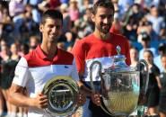 Tundukkan Novak Djokovic, Marin Cilic Keluar Sebagai Juara Di Queen`s Club