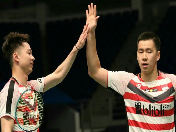 Kevin/Marcus Belum Terbendung di Malaysia Open 2018