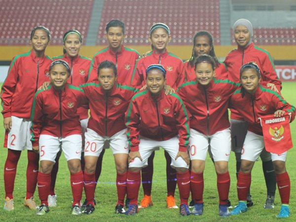 Timnas Wanita Indonesia Diperkuat 23 Pemain Pada Piala AFF 2018
