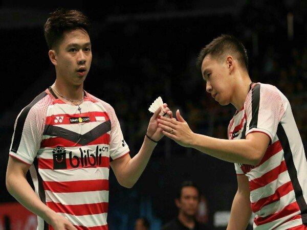 Kevin/Marcus Kandas di Babak Perempatfinal Malaysia Open 2018