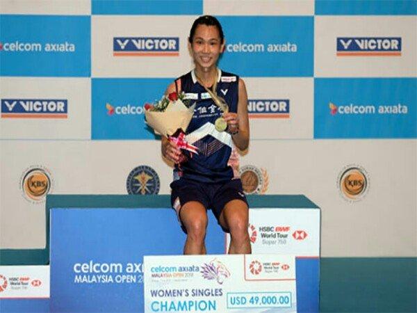 Pebulutangkis Tai Tzu Ying Sukses Juara Malaysia Open 2018