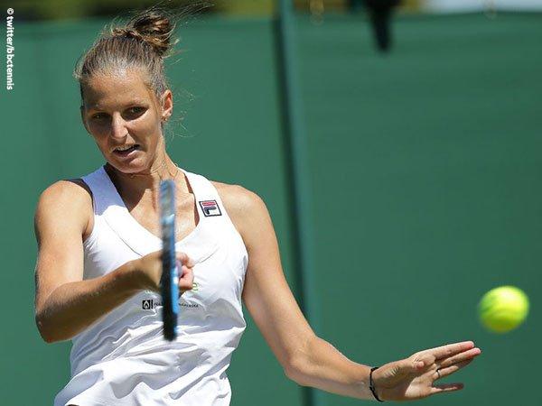 Hasil Wimbledon: Karolina Pliskova Sedikit Tertatih Pada Tantangan Pertamanya