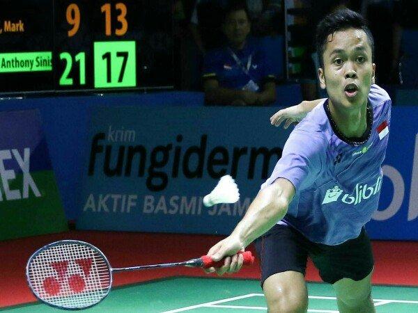 Anthony Sinisuka Ginting Melaju ke Babak Kedua Indonesia Open 2018