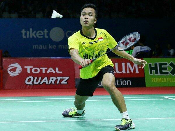 Langkah Anthony Dihentikan Momota di Babak Kedua Indonesia Open 2018