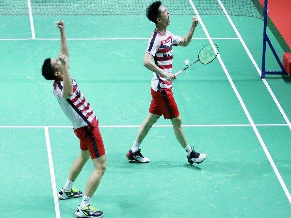 Kevin/Marcus Amankan Tiket Babak Semifinal Indonesia Open 2018
