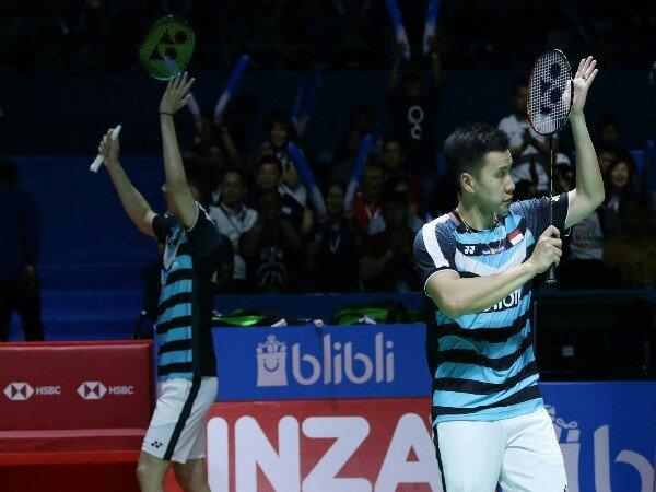 Kevin/Marcus Mantap ke Final Indonesia Open 2018