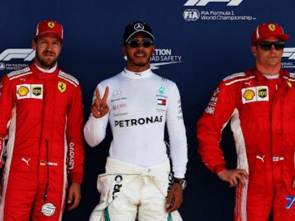 Klasemen Sementara F1 usai GP Inggris