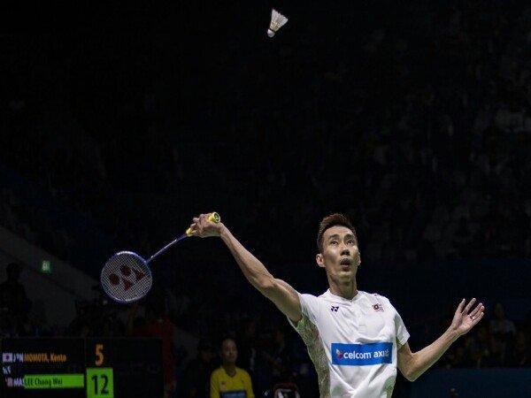 Lee Chong Wei Gagal Lewati Momota di Semifinal Indonesia Open 2018