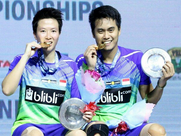 Tontowi/Liliyana Juara Indonesia Open 2018