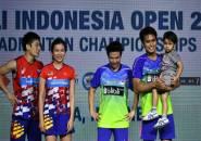 Hasil Final Indonesia Open 2018, Indonesia dan Jepang Dua Gelar Juara