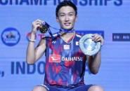 Kandaskan Victor Axelsen, Kento Momota Juara Indonesia Open 2018