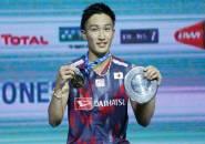 Momota Beberkan Kunci Suksesnya di Indonesia Open