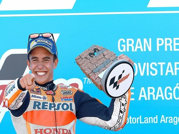 Marquez Diabadikan Menjadi Nama Tikungan Di Aragon