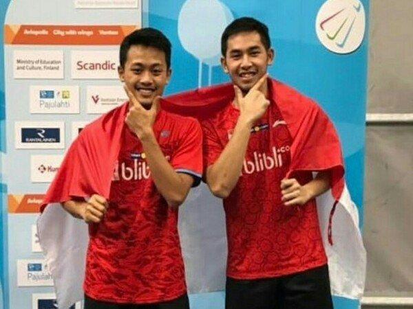 Akbar/Reza Tumbangkan Ganda Tuan Rumah di Thailand Open 2018
