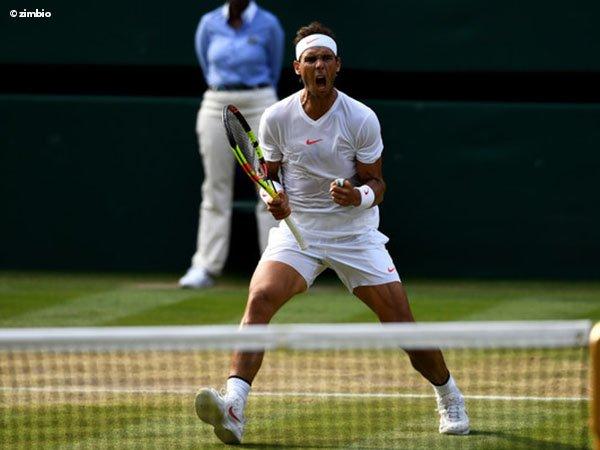 Begini Reaksi Rafael Nadal Atas Kekalahan Roger Federer Di Wimbledon