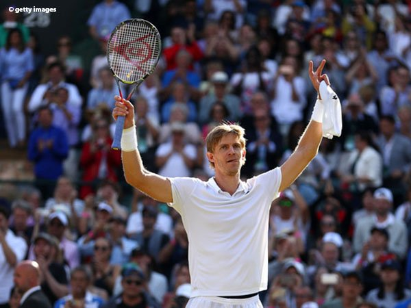 Hasil Wimbledon: Pulangkan Roger Federer, Kevin Anderson Mantap Ke Semifinal
