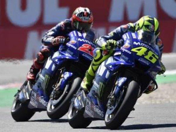 Rossi dan Vinales Optimistis Sambut MotoGP Jerman