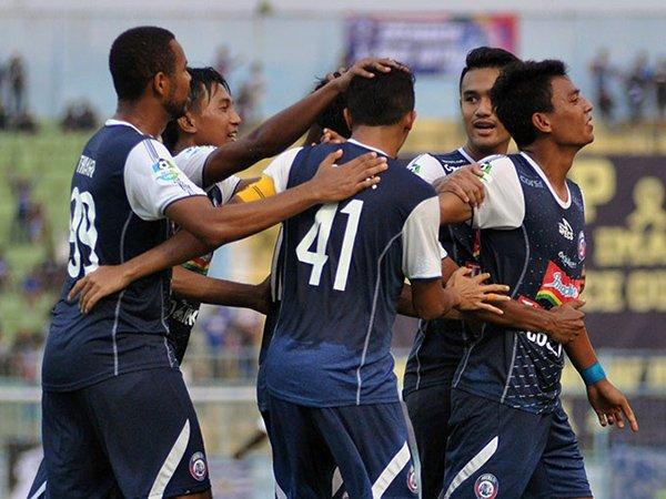 Arema FC vs PS Tira, Singo Edan Dalam Tren Positif