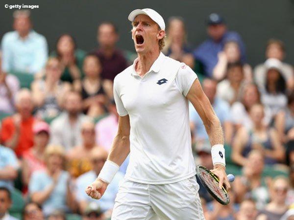 Hasil Wimbledon: Klaim 26-24 di Set Kelima, Kevin Anderson Tembus Partai Final