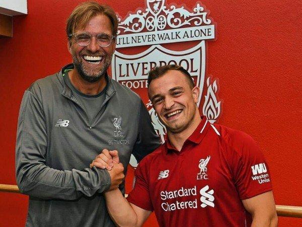Liverpool Datangkan Xherdan Shaqiri, Jurgen Klopp Senang