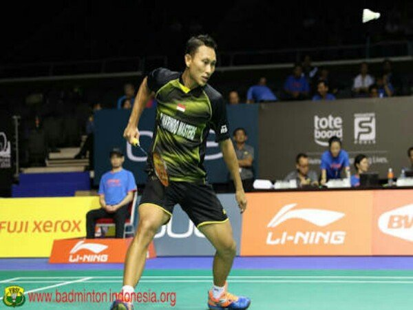 Singkirkan Pemain Muda China, Sony Dwi Kuncoro Lolos ke Semifinal Thailand Open 2018