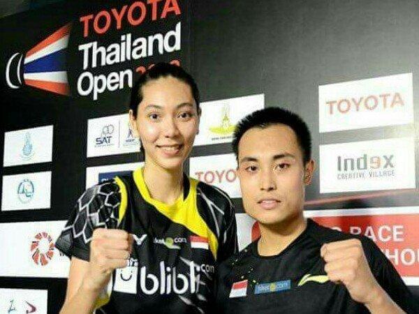 Hafiz/Gloria Juara Ganda Campuran Thailand Open 2018