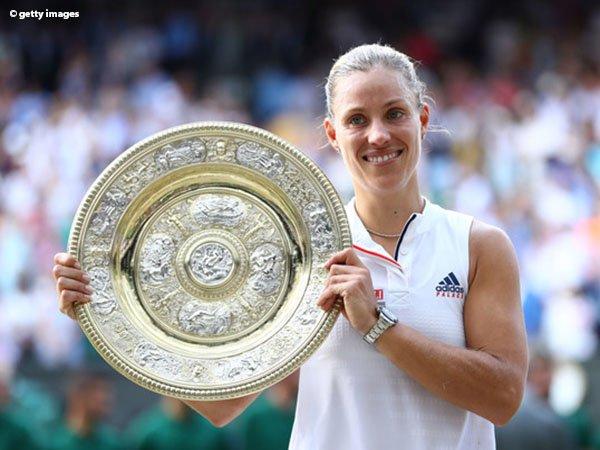 Hasil Wimbledon: Pupuskan Harapan Serena Williams, Angelique Kerber Klaim Gelar Wimbledon Pertama