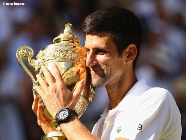 Anak Laki-Laki Novak Djokovic Jadi Inspirasi Kemenangan Wimbledon