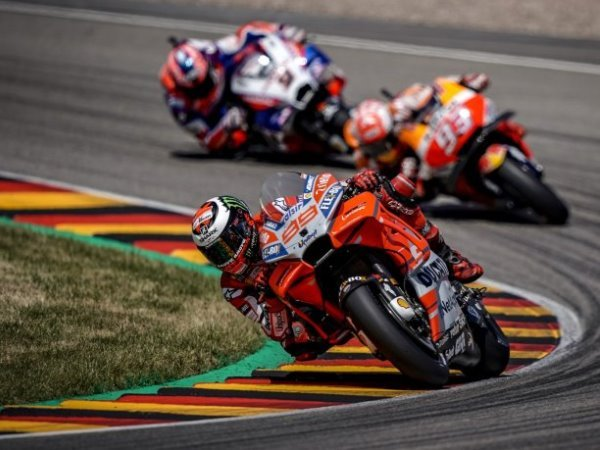 Jorge Lorenzo Akui Salah Strategi di MotoGP Jerman