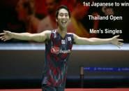 Kanta Tsuneyama Rebut Gelar Tunggal Putra Thailand Open 2018