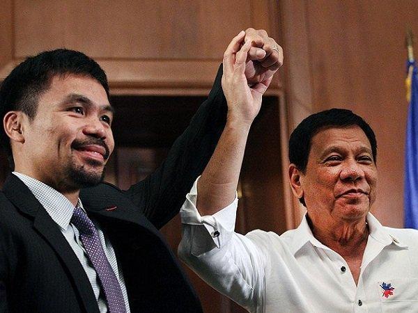 Presiden Filipina Ingatkan Pacquiao untuk Pensiun