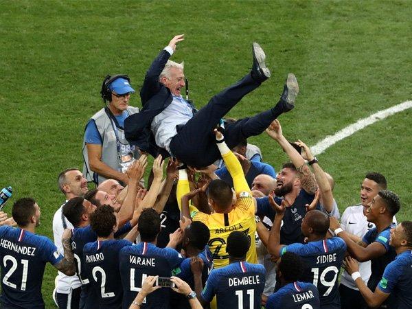 Tumbangkan Kroasia 4-2, Prancis Sah Jadi Juara Piala Dunia 2018