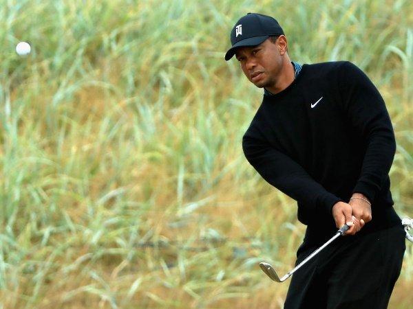 Begini Persiapan Tiger Woods Jelang British Open 2018