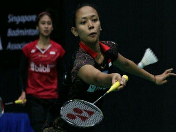 Ganda Putri Diprediksi Berpeluang Juara di Singapore Open 2018