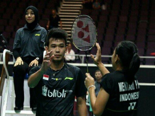 Rinov/Mentari Masuk Babak Utama Singapore Open 2018