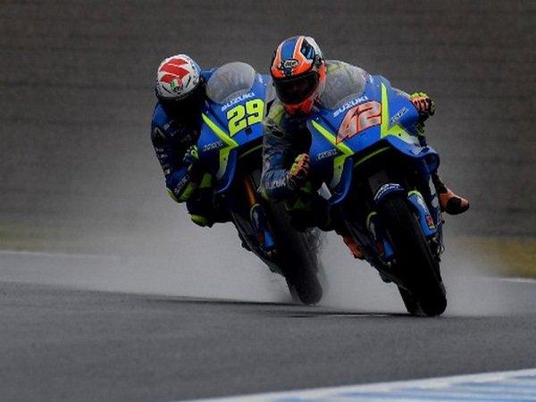 Duo Suzuki Klaim Espargaro Patut Dihukum Karena Picu Insiden Di Sachsenring